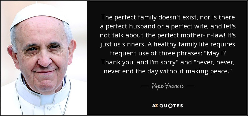 Top 24 Perfect Family Quotes A Z Quotes
