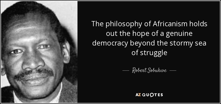 "african philosophy ""for african philosophy to be taken seriously it has to find some sort of foundation within the african thought-world rather than in the greek or."