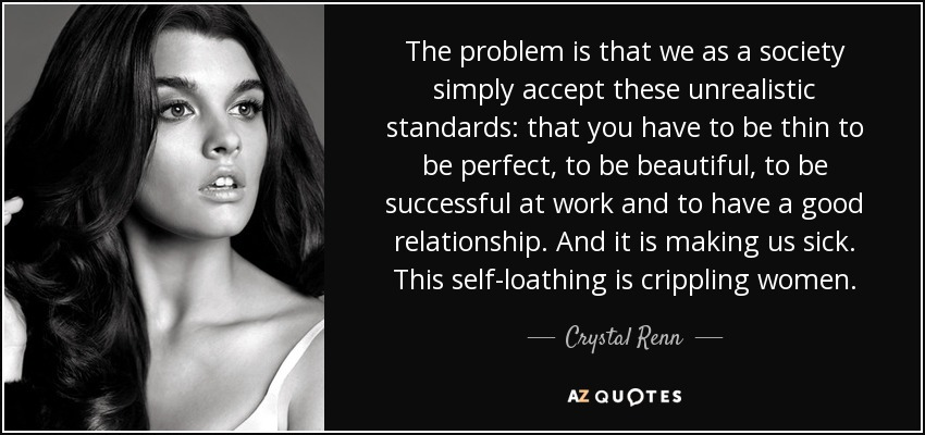 Top 25 Quotes By Crystal Renn A Z Quotes
