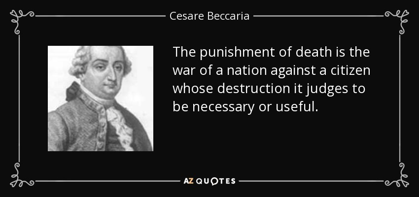 beccaria cesare Cesare beccaria was born in rome on april 23, 1968 he is the fourth child of anna maria mercuri and alberto beccaria, a shoes designer.
