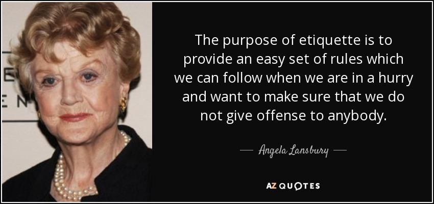 Angela Lansbury famous quote