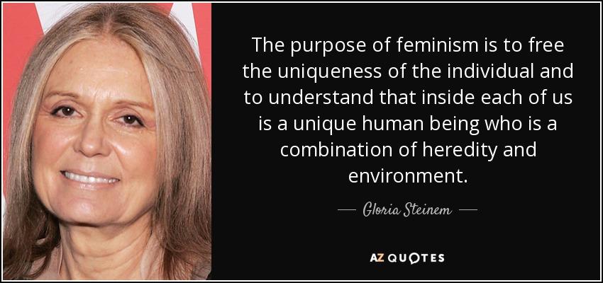 gloria steinem woman