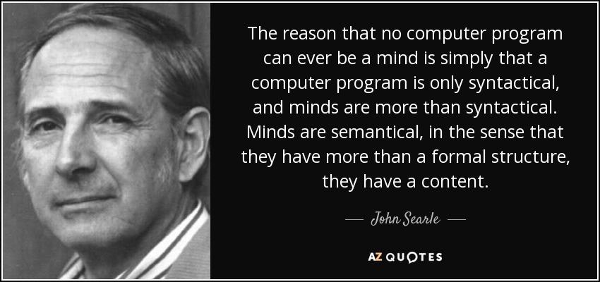 John Searle Quotes