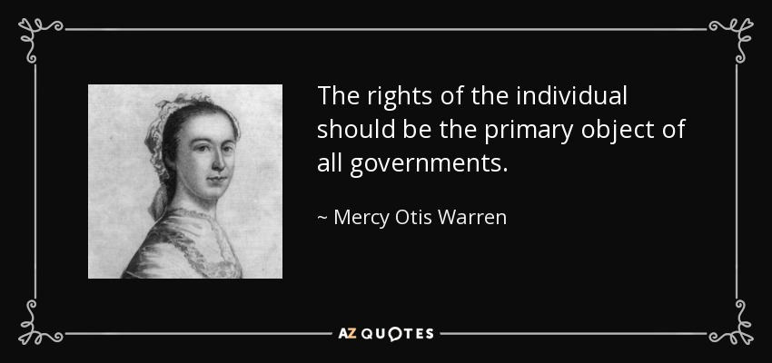 TOP 25 QUOTES BY MERCY OTIS WARREN | A-Z Quotes