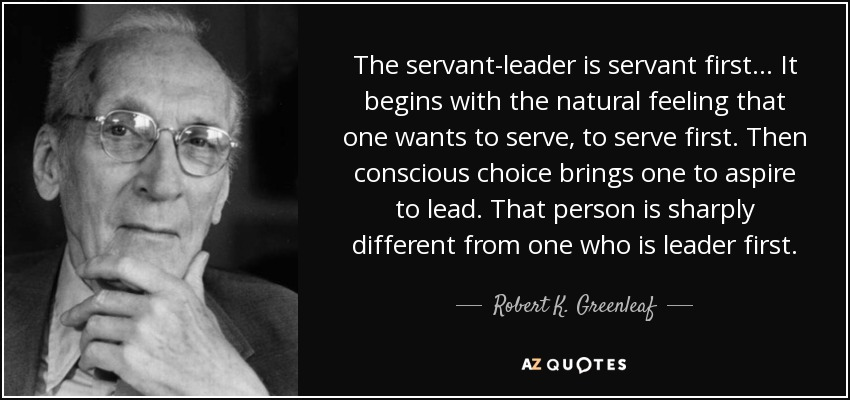 Servant Leadership Quotes Amazing Top 25 Servant Leadership Quotes Of 59  Az Quotes