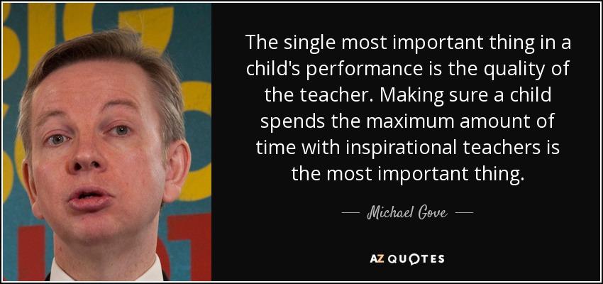 quotes authors michael gove