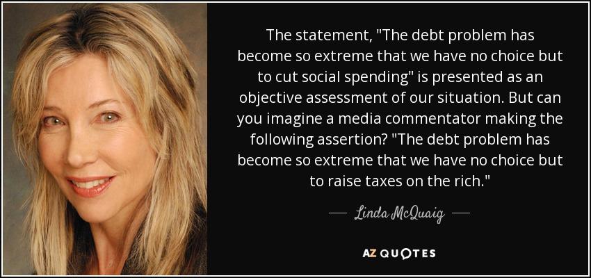 The statement,