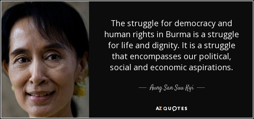 essay on struggle for democracy in myanmar Myanmar – a year of democracy  the lady, who sacrificed her family and liberty in the struggle for democracy in her home country, is still regarded as the nation's savior.