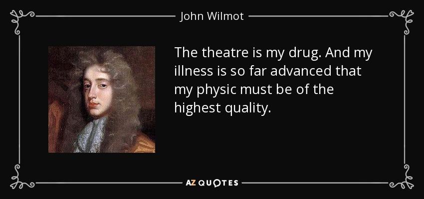 John Wilmot illness