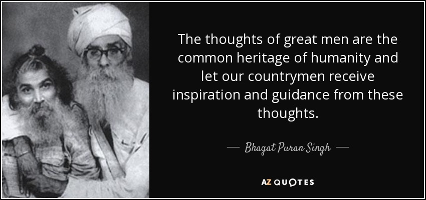 bhagat singh political thoughts of From such thoughts of bhagat singh we glean his idea of nationalism  the miserable conditions of the starving millions in india are perpetuated by a nexus of vested interests of political .