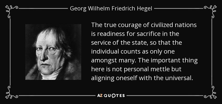 Hegel, friedrich