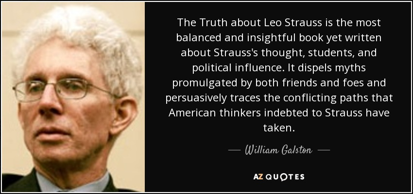 The Truth about Leo Strauss is the most balanced and insightful book yet written about Strauss's thought, students, and political influence. It dispels myths promulgated by both friends and foes and persuasively traces the conflicting paths that American thinkers indebted to Strauss have taken. - William Galston