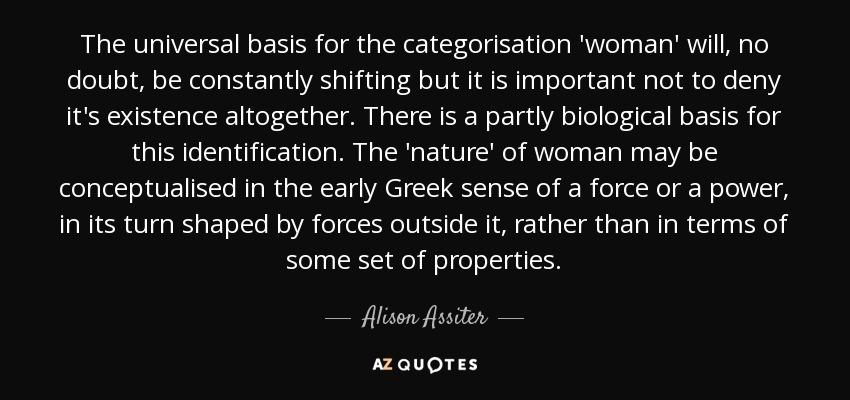 Alison Assiter
