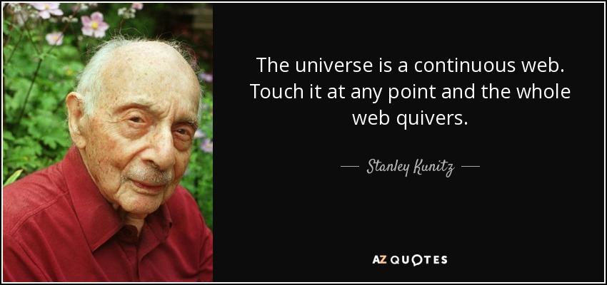 Stanley Kunitz style