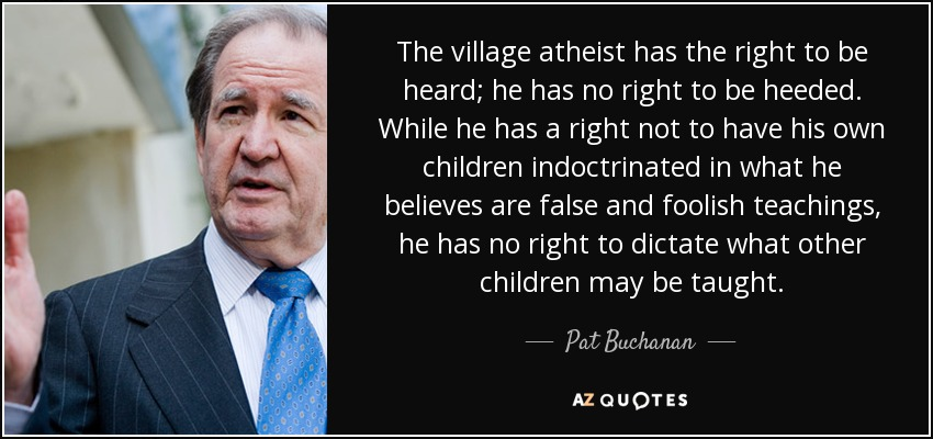 the village atheist