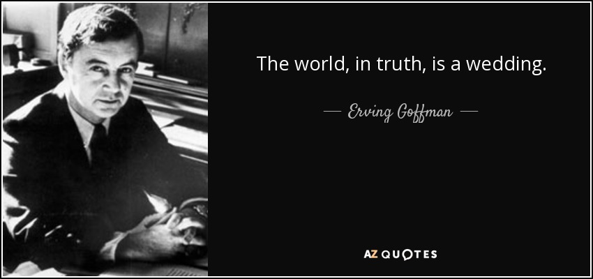 goffman snippets Free erving goffman papers, essays, and research papers.