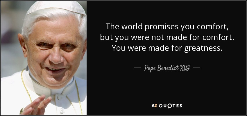 Image result for quote pope benedict