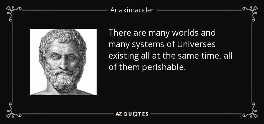 anaximanders view is a mix of intuition and primitive theory First, from a logic point of view, if you prove the result without primitive, then it is a weaker statement then, we do not need $f$ to be primitive, but the result with primitive is stronger.