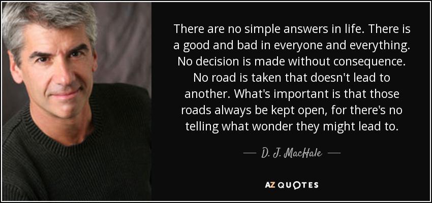 DJ Machale Quote