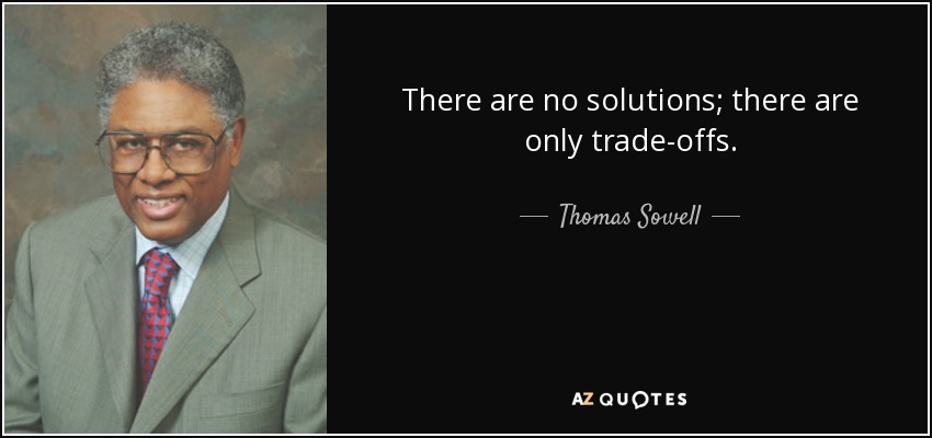 TOP 25 TRADE OFFS QUOTES (of 74)   A-Z Quotes