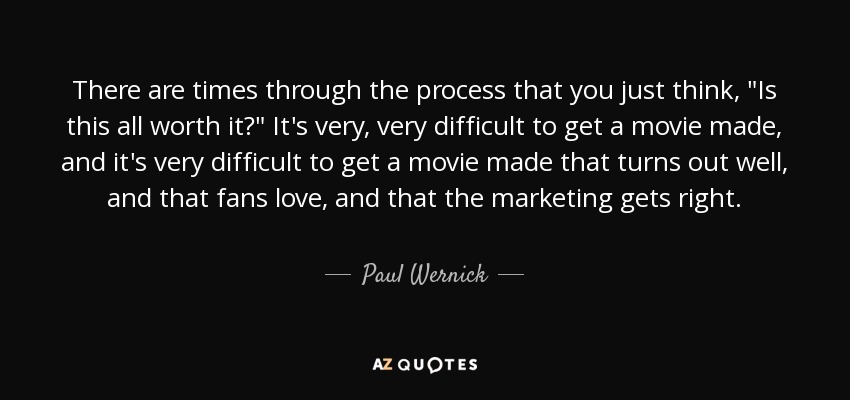 Top 9 Quotes By Paul Wernick A Z Quotes