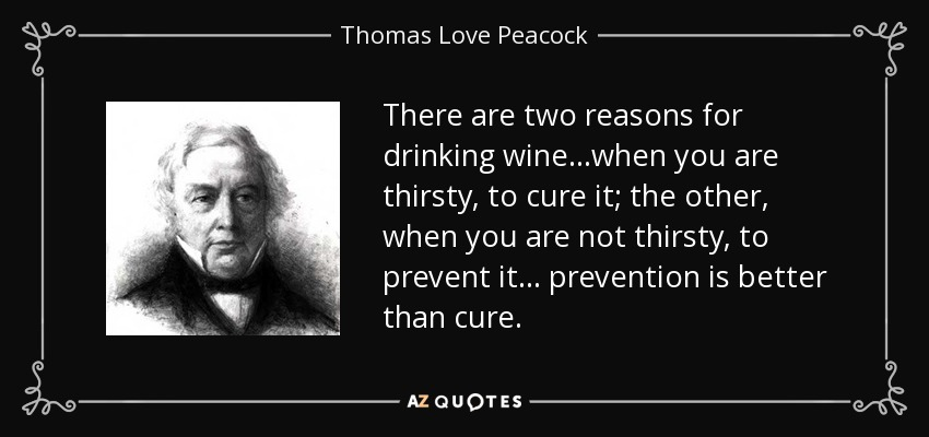 Prevention Is Better Than Cure Quotes: TOP 25 QUOTES BY THOMAS LOVE PEACOCK