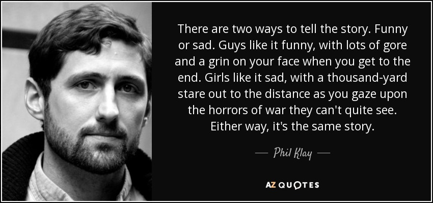 TOP 15 QUOTES BY PHIL KLAY | A-Z Quotes