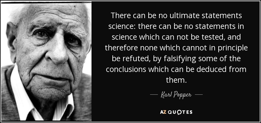 karl popper thesis of verisimilitude Karl popper was an austrian and british popper went on to develop his important notion of verisimilitude the quine-duhem thesis argues that it is.