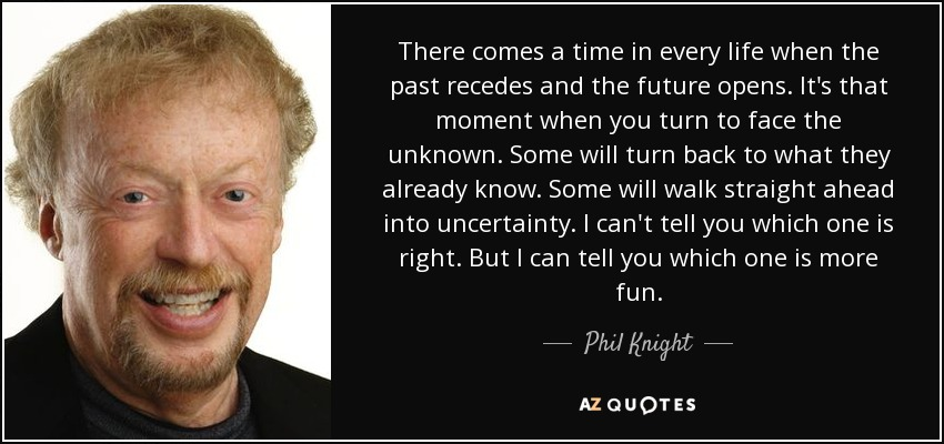 biography of phil knight The knights' tale living a quiet life as an animator, travis knight never dreamed he'd work for his father then the nike founder gave him an offer he couldn't refuse by chuck salter long read being phil knight's kid was.