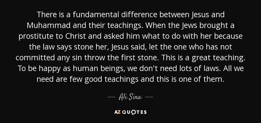 major difference between jesus and muhammad relationship
