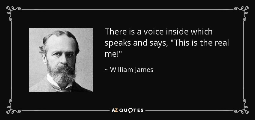 There is a voice inside which speaks and says,