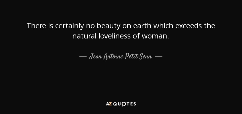 The loveliness of woman