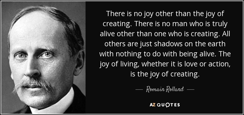Image result for joy of creating