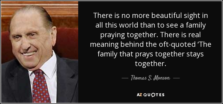 TOP 8 PRAYING TOGETHER QUOTES | A-Z Quotes