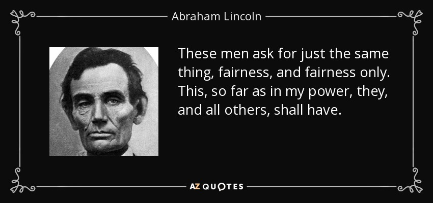 Top 25 Fairness Quotes Of 517 A Z Quotes