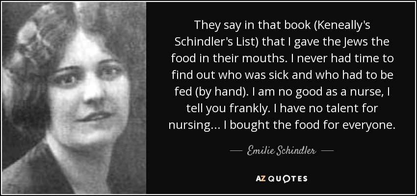 "lesson from history schindlers list essay Expository essay schindler s list question: 'schindler's list' is no less a ""jewish story"" or a ""german story"" than it is a human storyand its subject matter applies to every generation' [stephen spielberg] discuss."