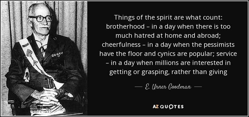 Quotes By E Urner Goodman A Z Quotes