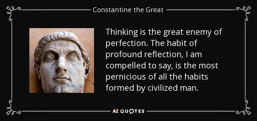 Image result for constantine quotes