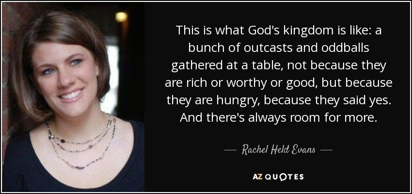 Image result for Rachel held evans quotes