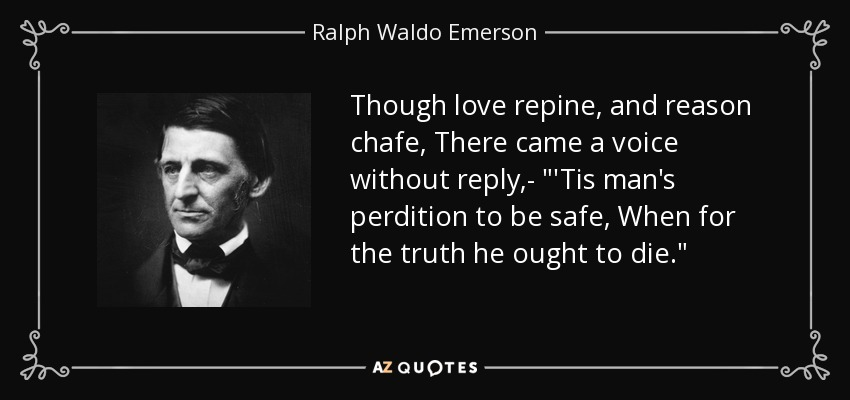Though love repine, and reason chafe, There came a voice without reply,-