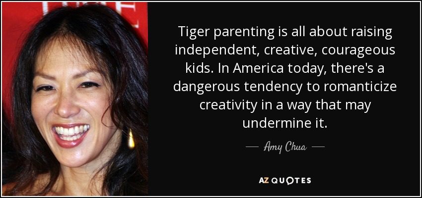 tiger parenting Buy battle hymn of the tiger mother second edition by amy chua (isbn: 8601200522952) from amazon's book store everyday low prices and free delivery on eligible orders.