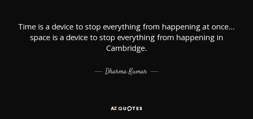 QUOTES BY DHARMA KUMAR