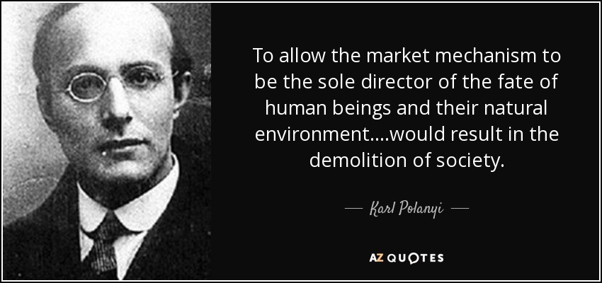 Image result for Karl Polanyi