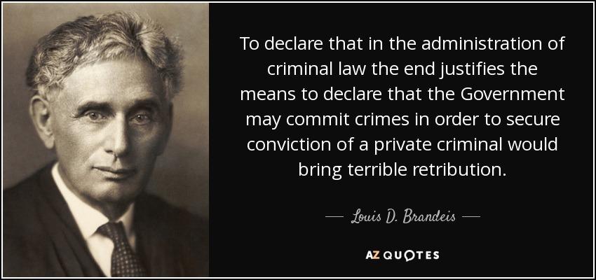 Criminal Defense Quotes: best 6 famous quotes about ...   Criminal Law Quotes