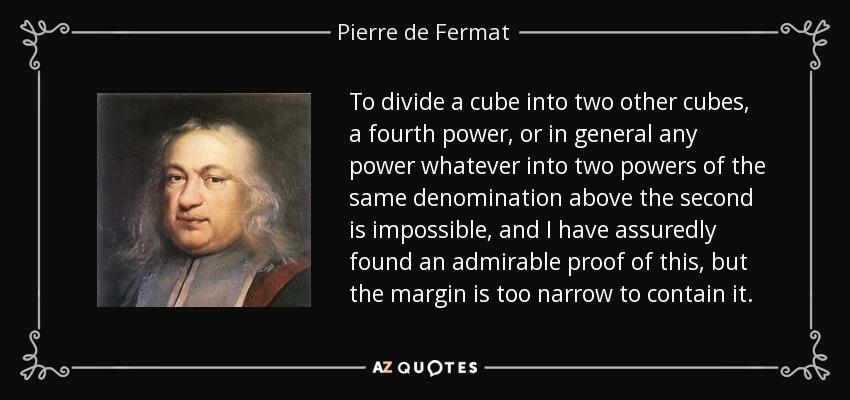 about pierre de fermat