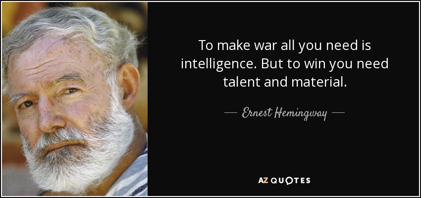 ernest hemingway for whom the bell tolls quotes