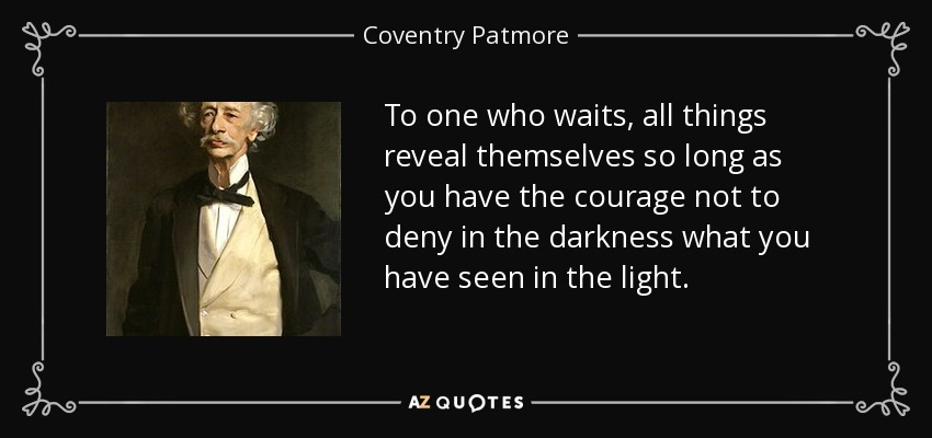 Coventry Patmore quotes