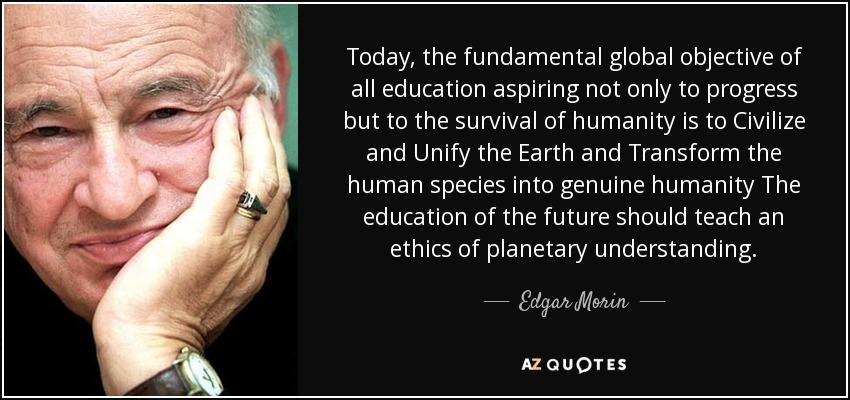 Quotes By Edgar Morin A Z Quotes