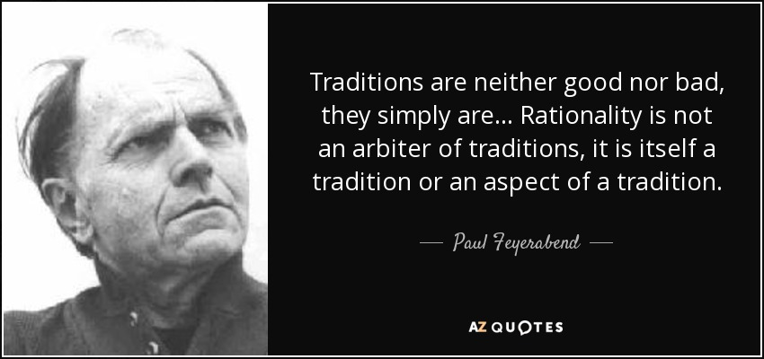 Topics on Tradition