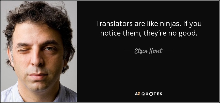 creative writing etgar keret